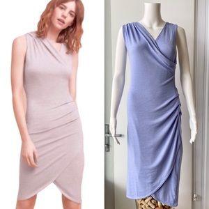 ARITZIA Wilfred Free 'Izadora' Dress in Soft Lilac